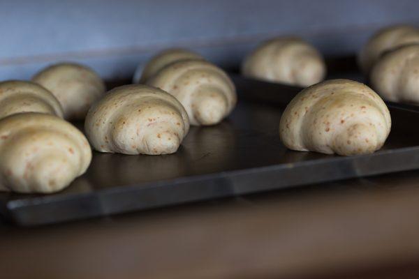 Make wheat croissant ,fresh bakery